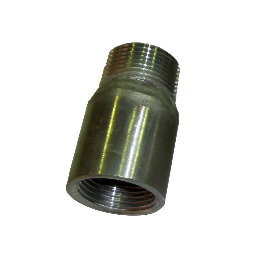 "NPT male – BSP female adaptor<br>1"" S/S<br>993-005-414-001F"