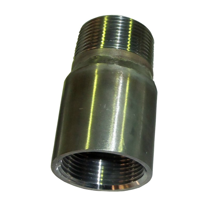 "NPT male – BSP female adaptor<br>1 ¼"" S/S<br>993-005-416-001F"