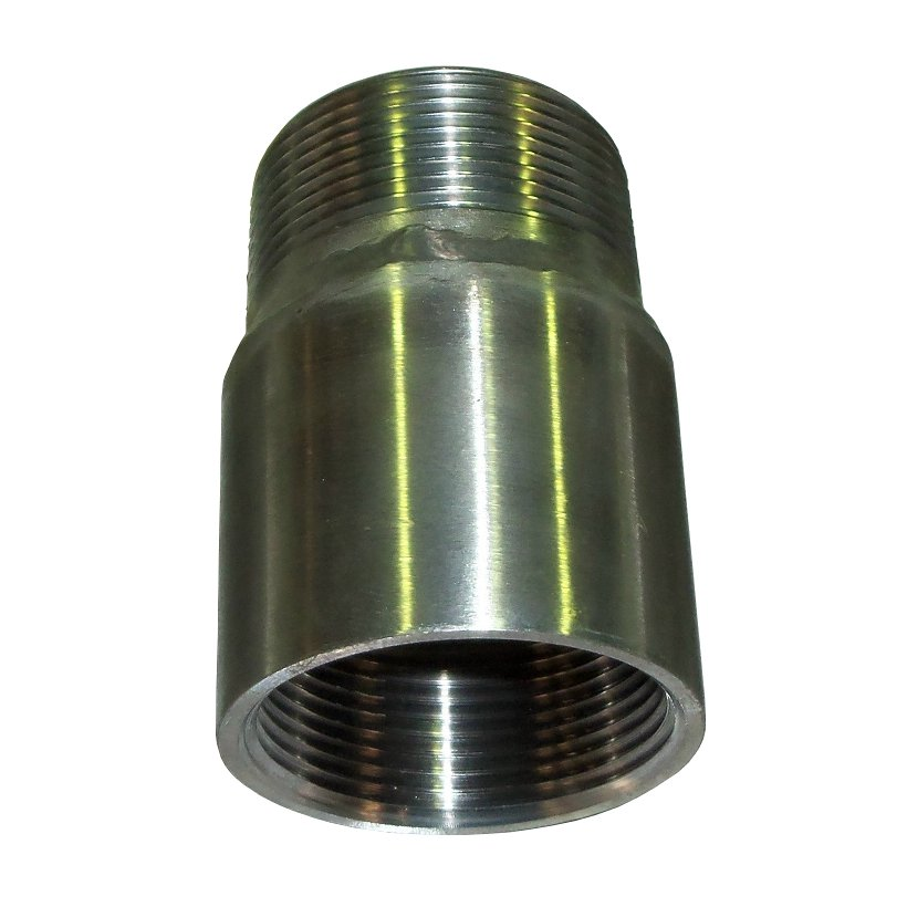 "NPT male – BSP female adaptor<br>1 ½"" S/S<br>993-005-417-001F"