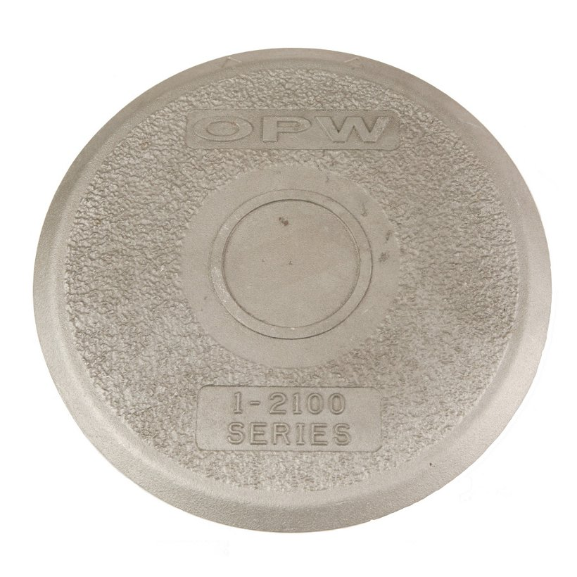 OPW Spill container lid<br>Rain tight aluminium<br>898-280-002